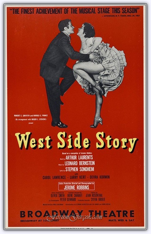 a report on west side story by arthur laurents West side story is the award-winning adaptation of the classic romantic tragedy, romeo and juliet the feuding families become two warring new york city gangs- the white jets led by riff and the puerto rican sharks, led by bernardo.