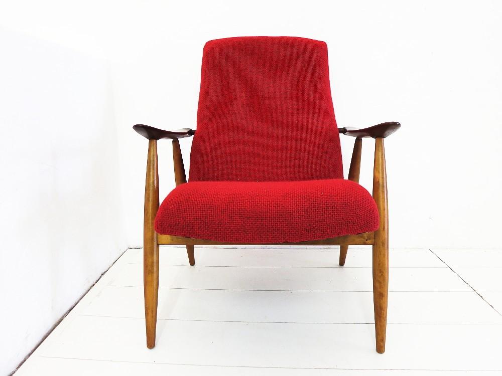 Teak sessel easy chair design olli borg f r asko 50er 60er for Sessel scandi