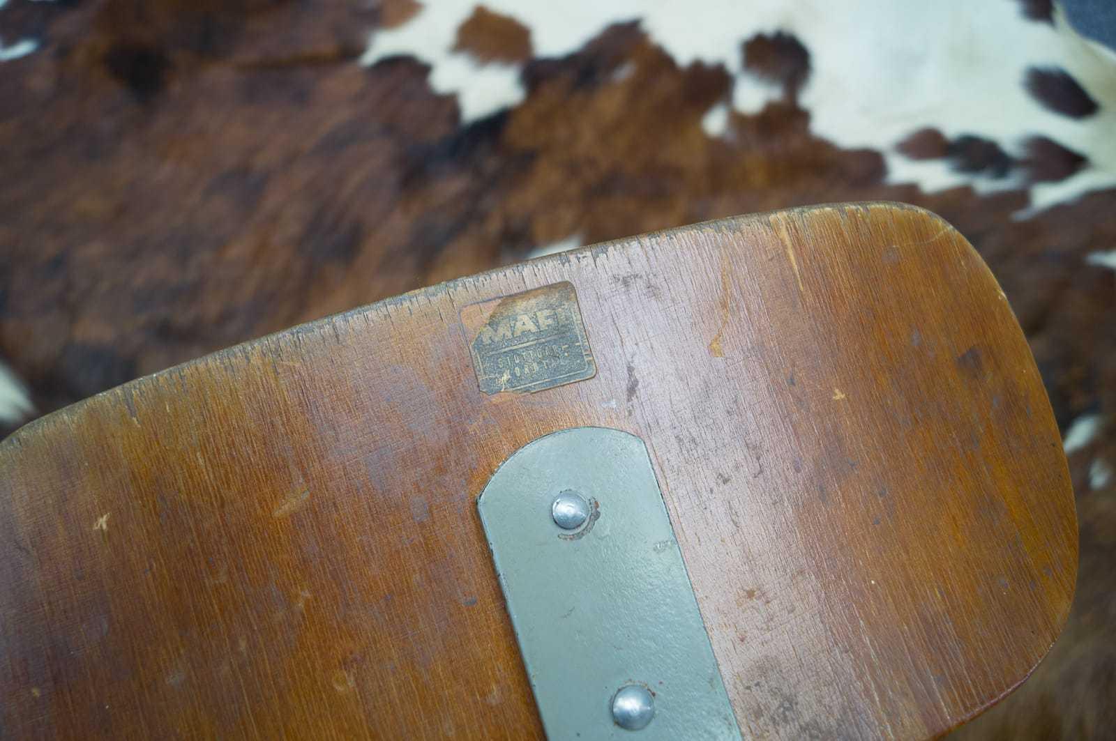 Art deco industrie hocker barhocker indutrial bauhaus for Bauhaus barhocker