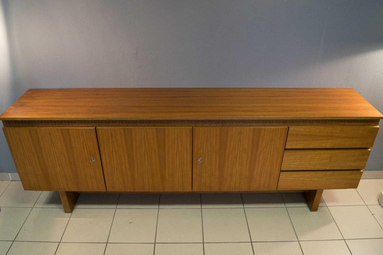 60er nussbaum sideboard vintage 70er retro ebay for Sideboard 60er 70er