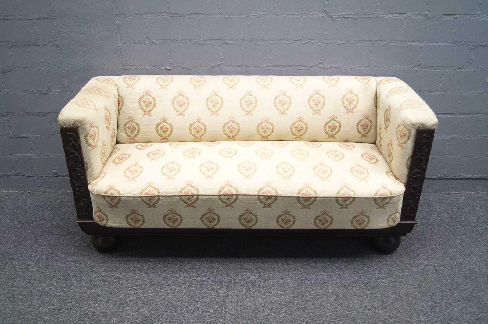 art deco sofagarnitur sofa sessel kubisch bauhaus kubus 20er 30er ebay. Black Bedroom Furniture Sets. Home Design Ideas