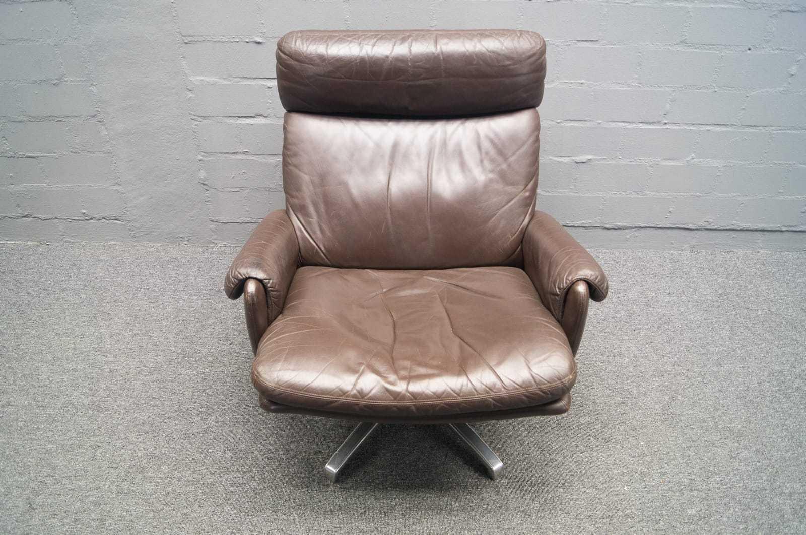str ssle sessel ledersessel leder 60er 70er vintage retro de sede ebay. Black Bedroom Furniture Sets. Home Design Ideas