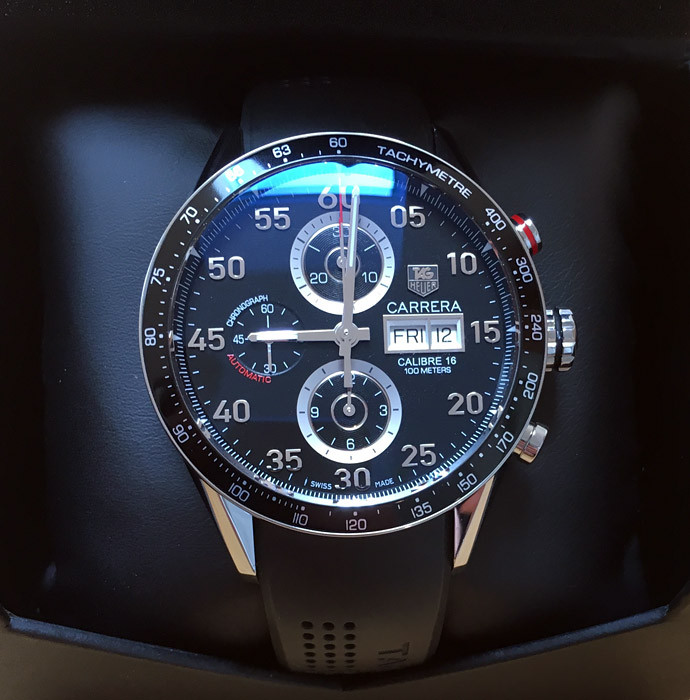 tag heuer carrera calibre 16 manual