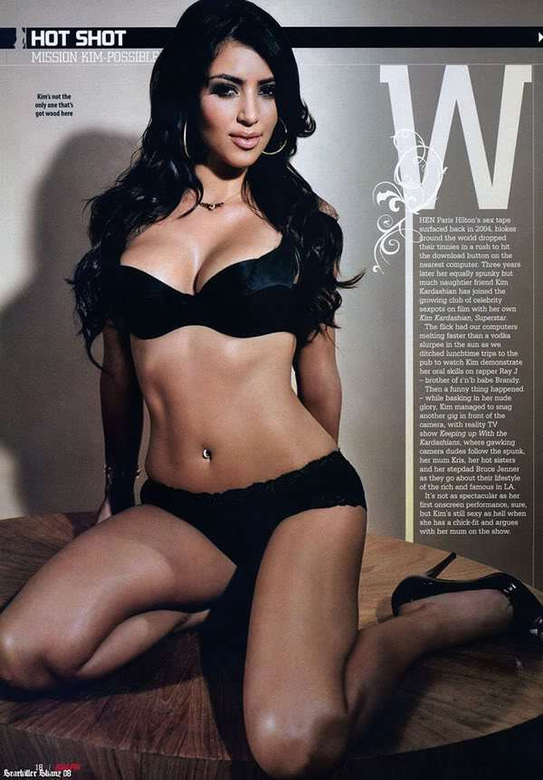 Kim Kardashian-Ralph Magazine-May 2008 - Sexy Actress Pictures | Hot Actress Pictures