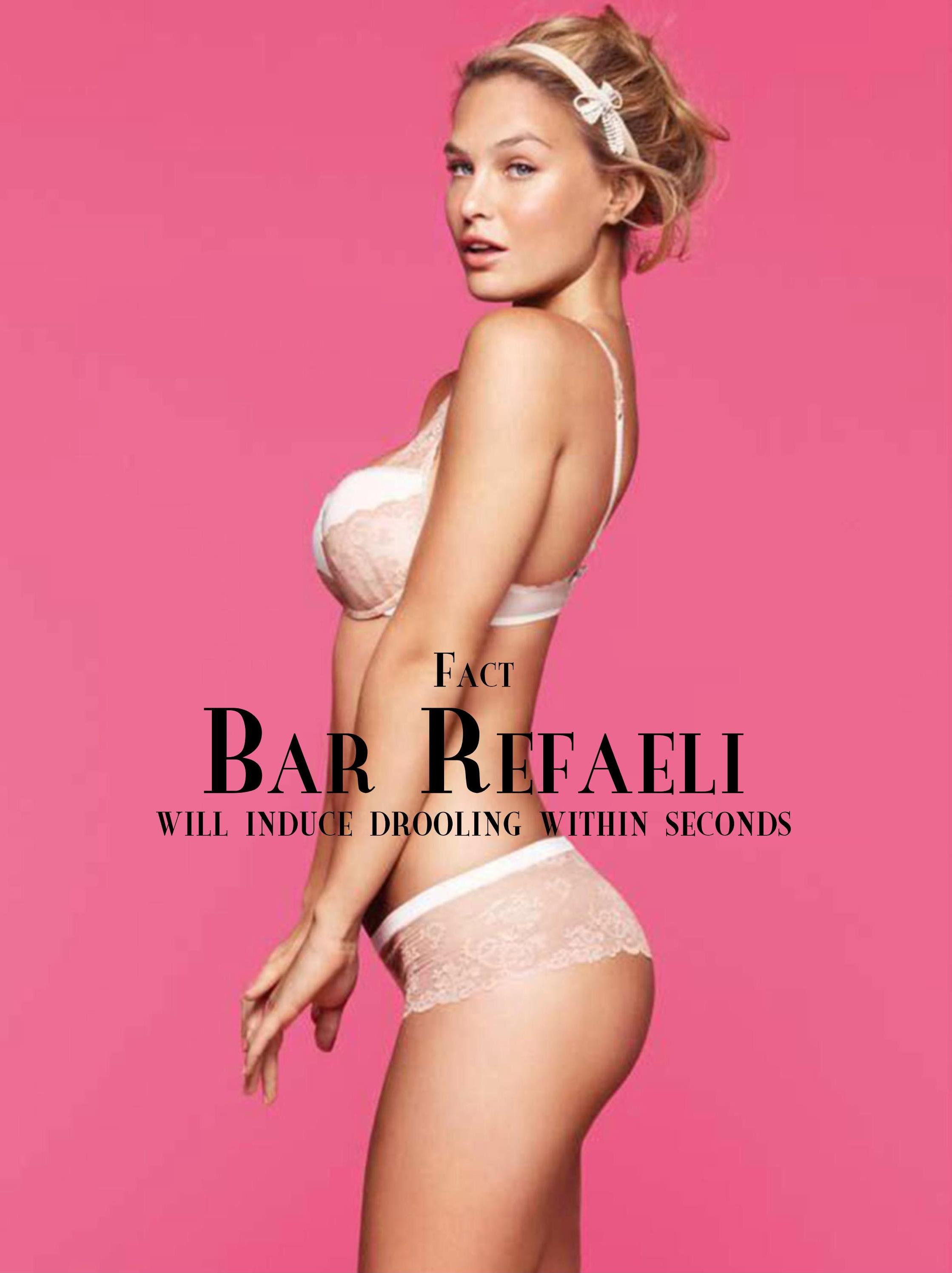 Bar Refaeli - Amen Magazine 2017 December UK Scans