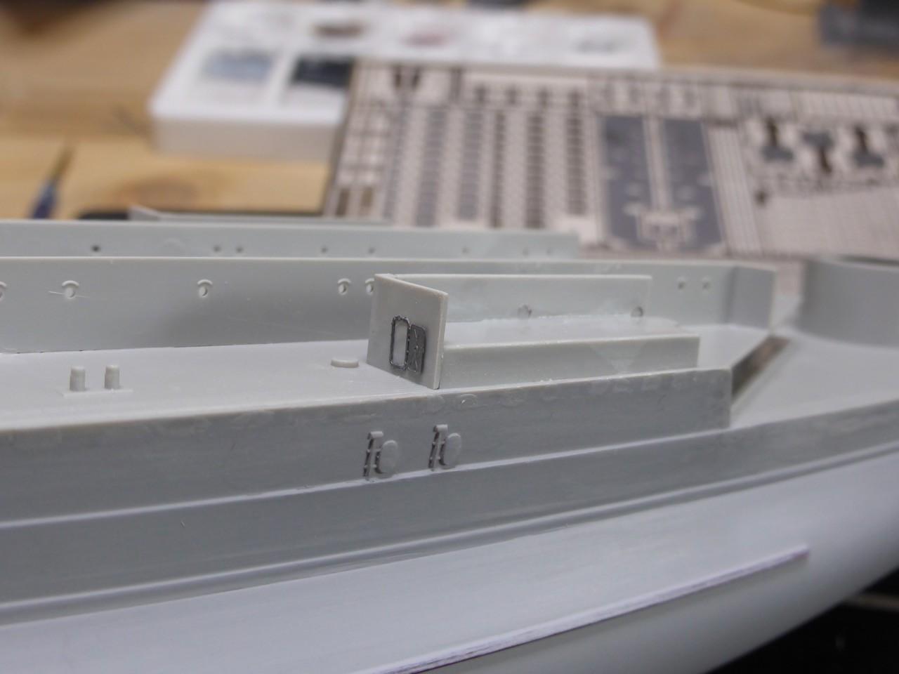 Model Shipwrights :: HMS Hood 1941 - Trumpeter 1/350 ... - photo#32