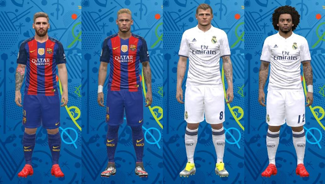 patch tattoo pes 2017 pc