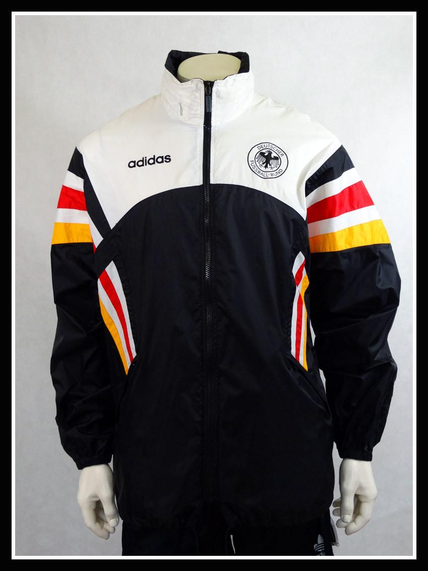 Vintage Adidas Germany Football Team Windbreaker Rain
