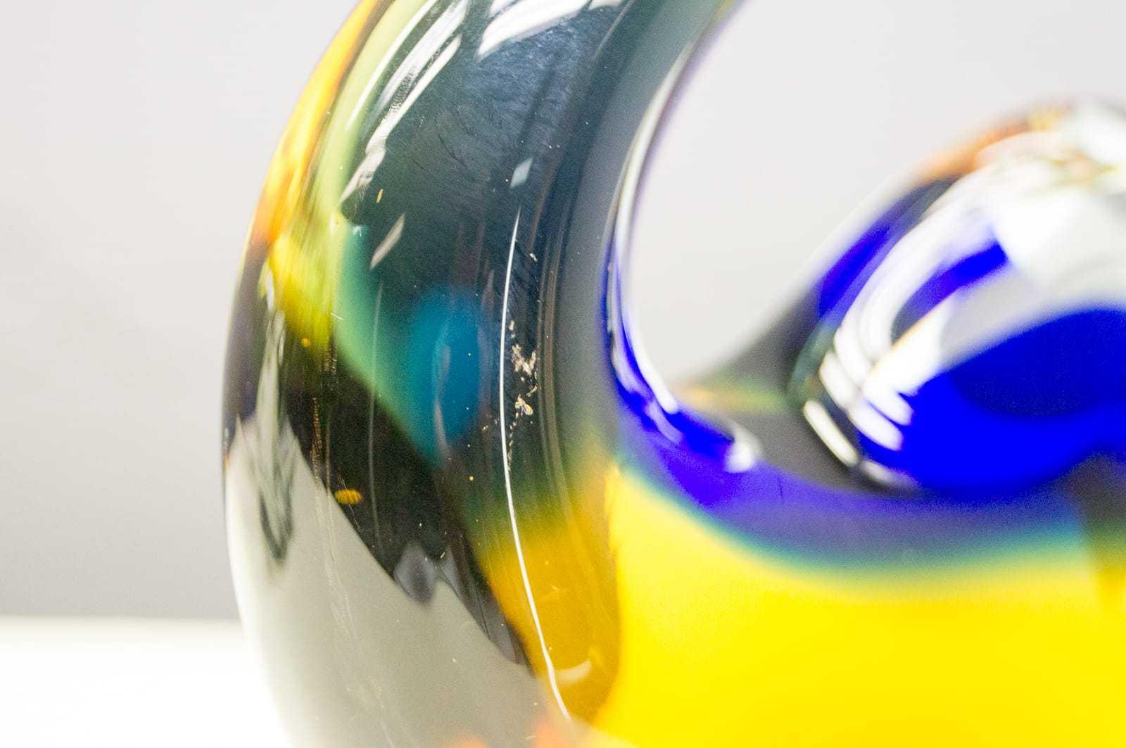 Vintage Schwan Saft Glas