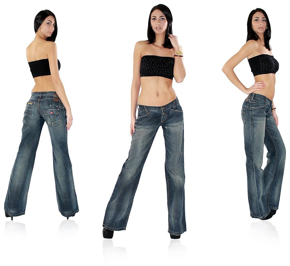 miss sixty damen jeans hose bootcut schlag schlaghose. Black Bedroom Furniture Sets. Home Design Ideas