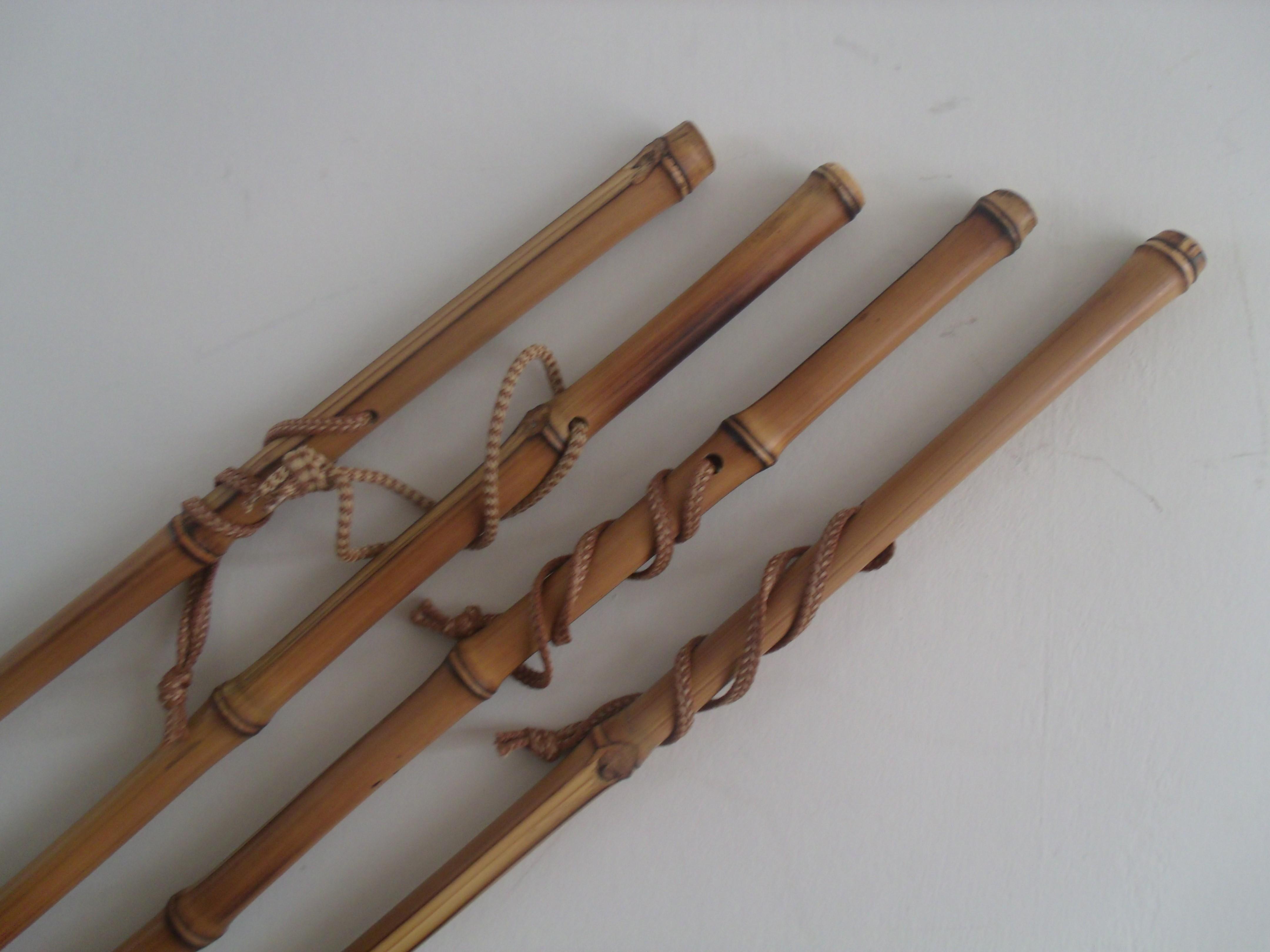 Bamboo canes lightweight walking sticks ideal