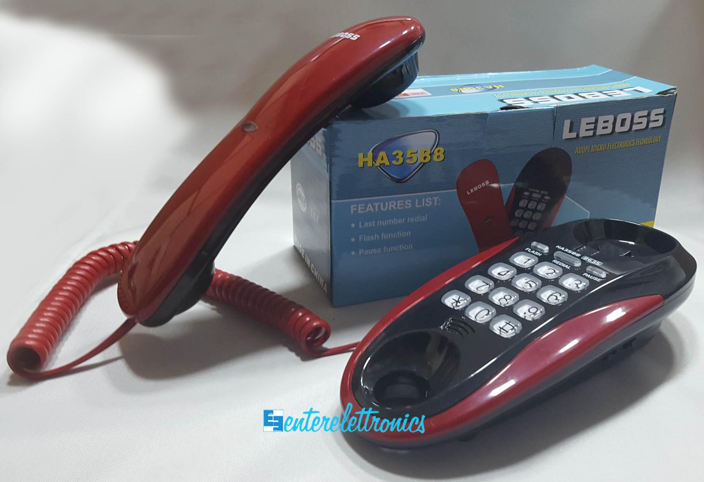 Leboss telefono fisso moderno caller phone ha3588 ebay - Telefono fisso design ...