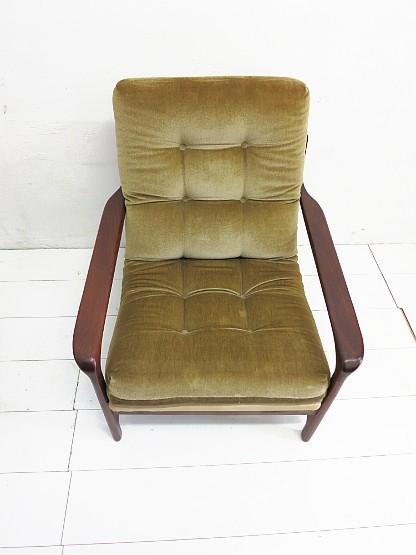 2 sessel aus den 60ern jahren teak danish style ebay. Black Bedroom Furniture Sets. Home Design Ideas
