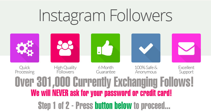 Instagram Followers QUICK & FREE!