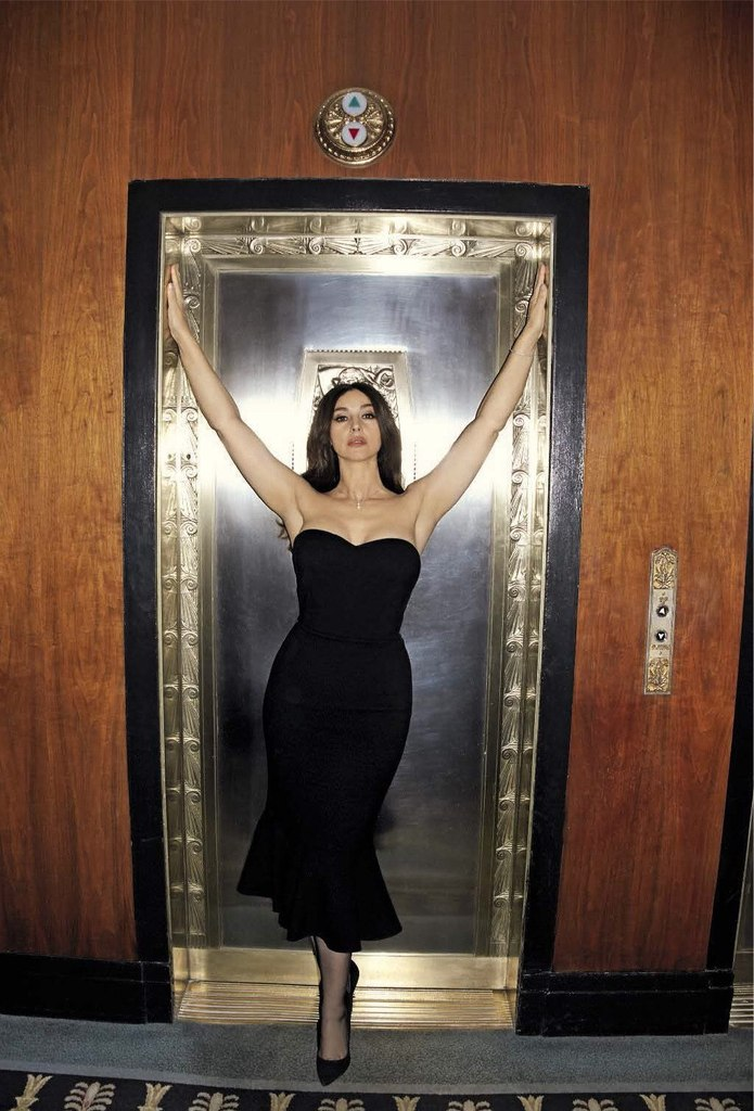 Monica Bellucci Scans - GQ Magazine February 2017 - Sexy Actress Pictures | Hot Actress Pictures