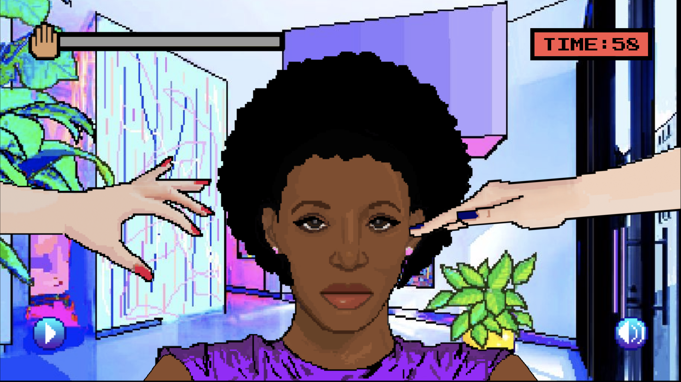 A New Video Game is for Black Women Who Are Tired of People Touching Our Hair