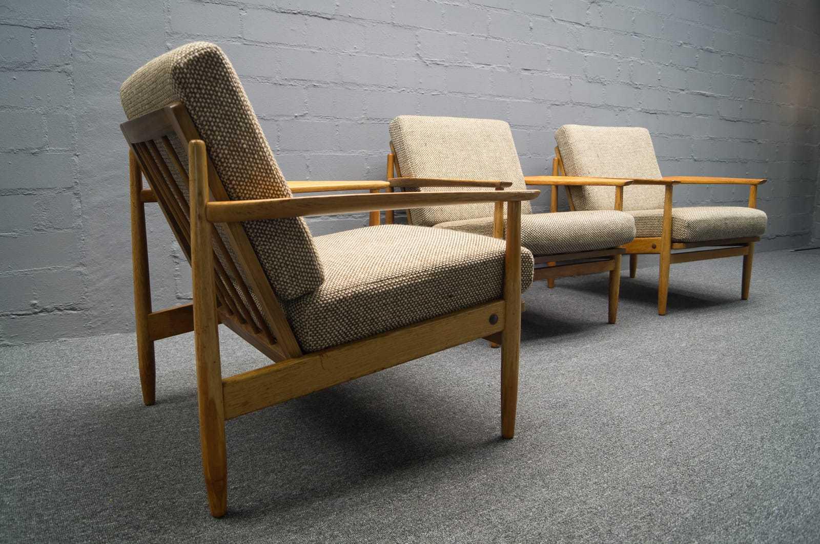 2x sofa daybed 3x sessel skandinavische sitzgruppe. Black Bedroom Furniture Sets. Home Design Ideas