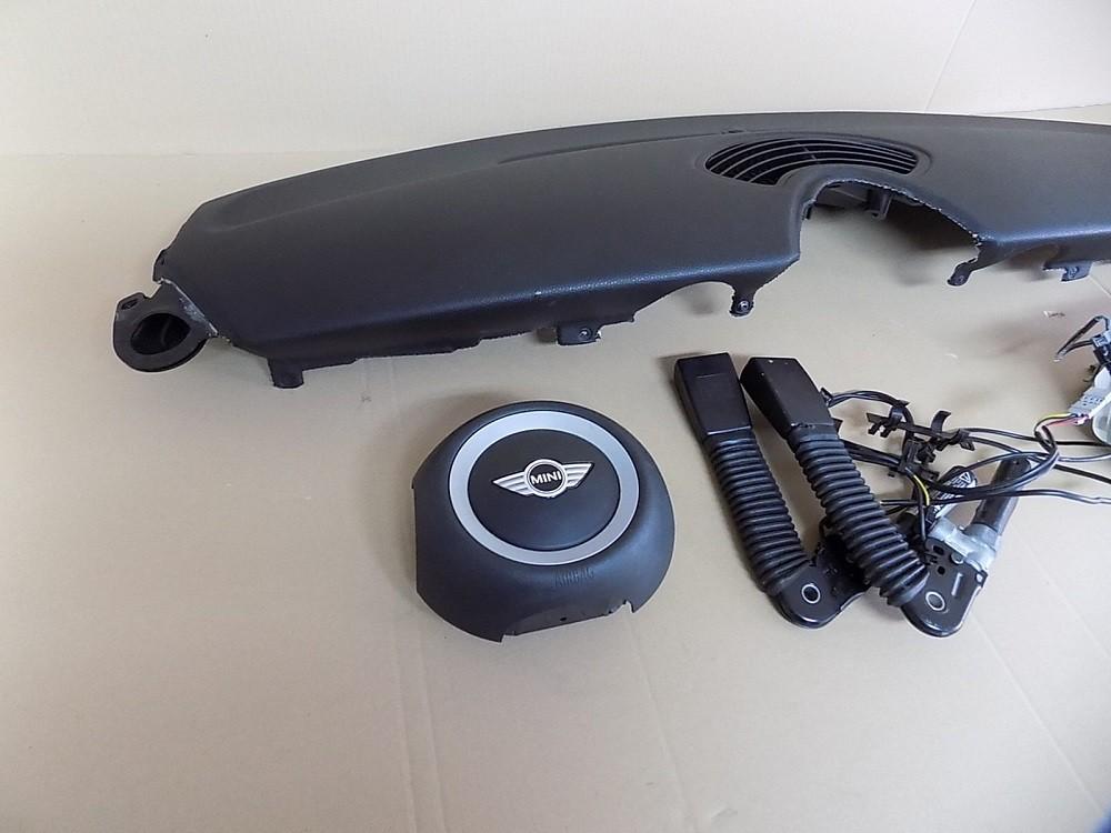 mini cooper r56 armaturenbrett airbag air bag dashboard ebay. Black Bedroom Furniture Sets. Home Design Ideas