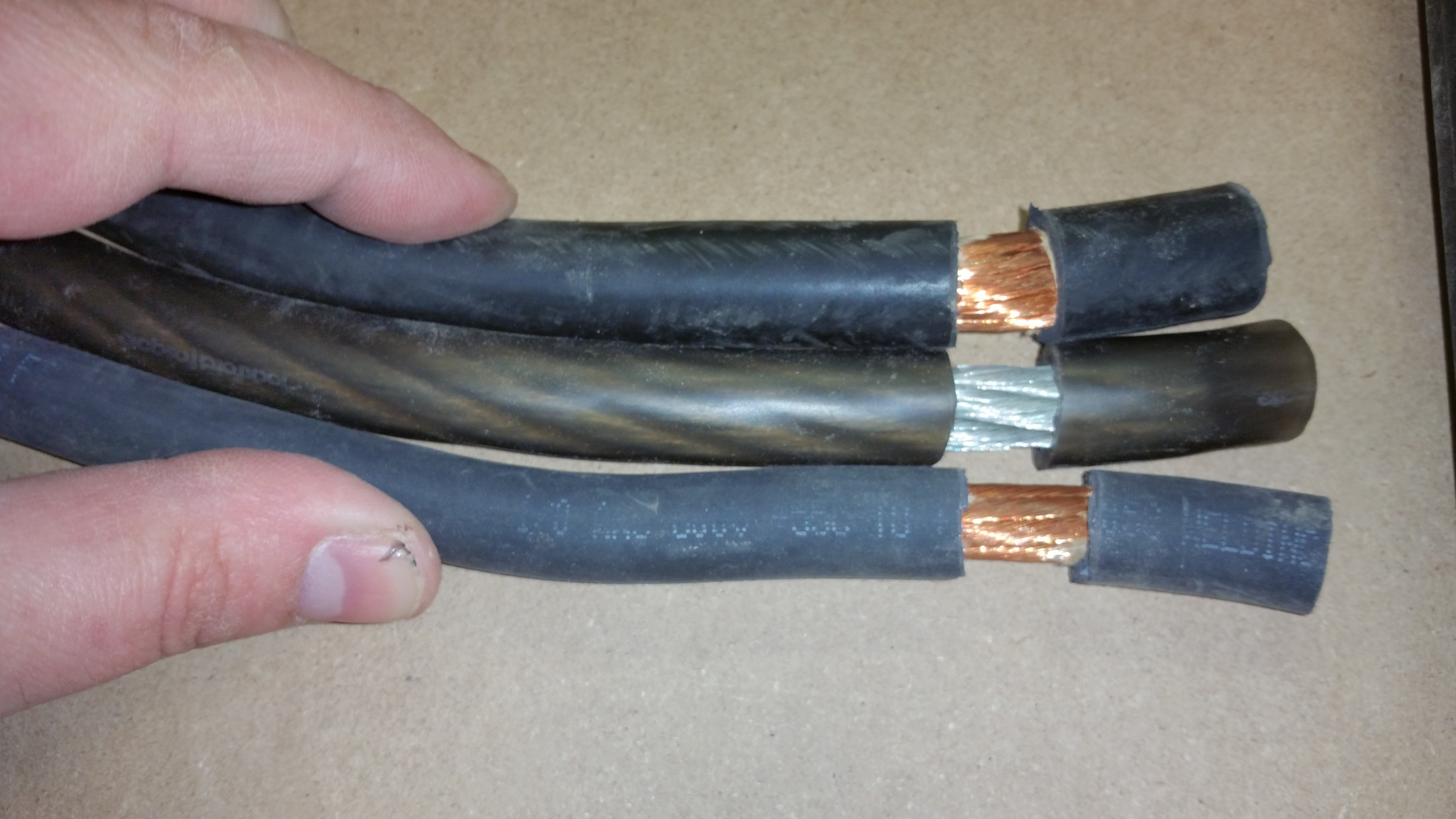 welding cable vs car audio cable for power runs page 2