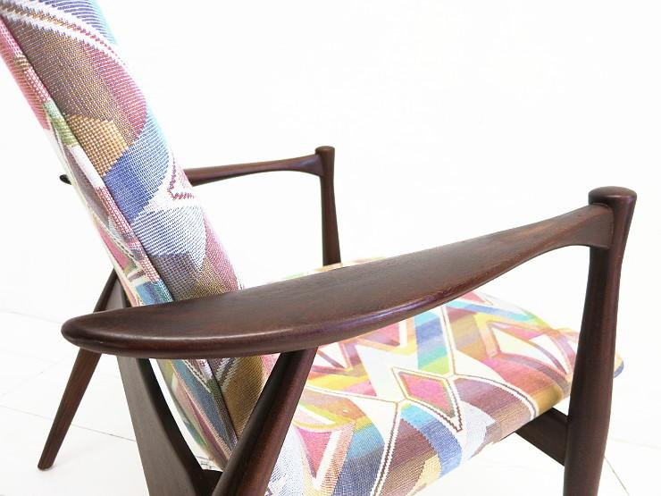 Teak sessel easy chair scandinavian design 50er 60er asko for Sessel scandi