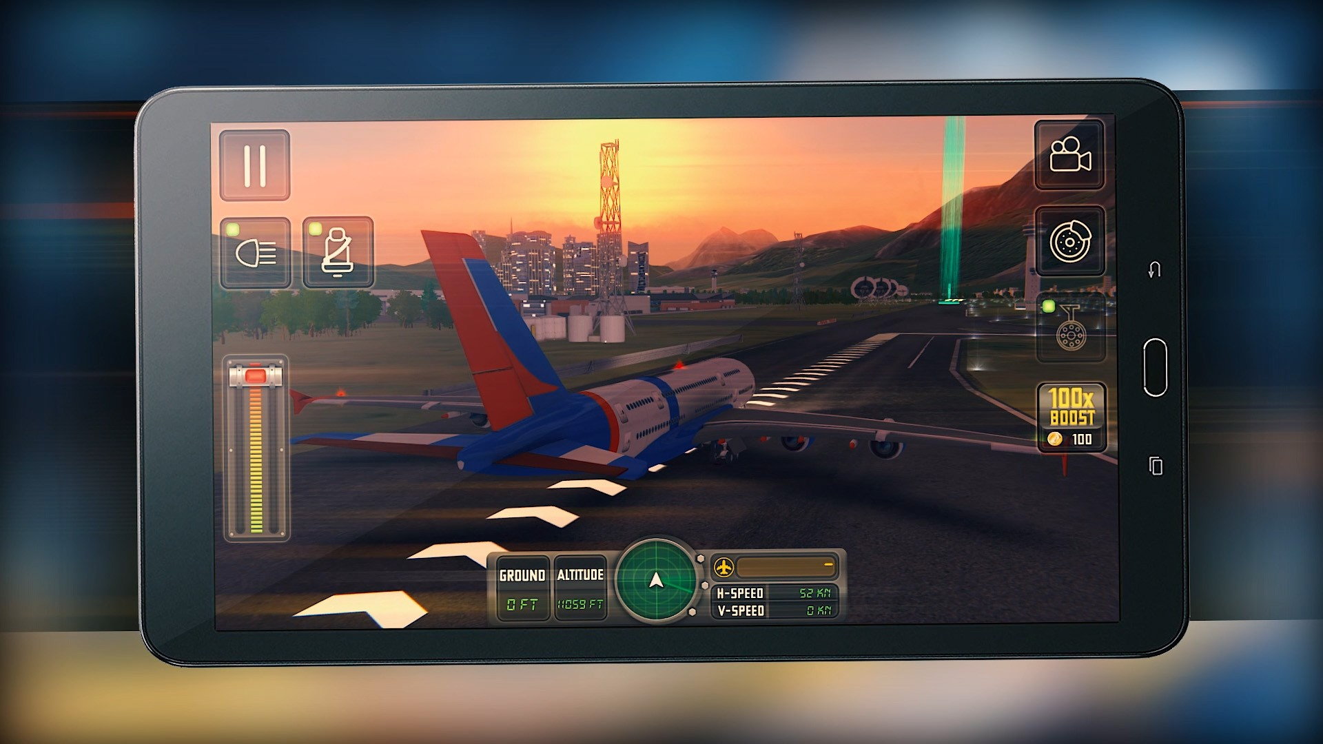 Flight Simulator iOS Android