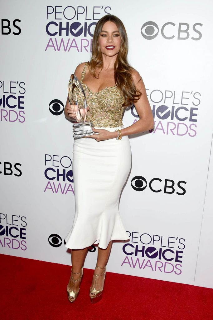 Sexy Sofia Vergara Pictures - 2017 People's Choice Award - Sexy Actress Pictures   Hot Actress Pictures