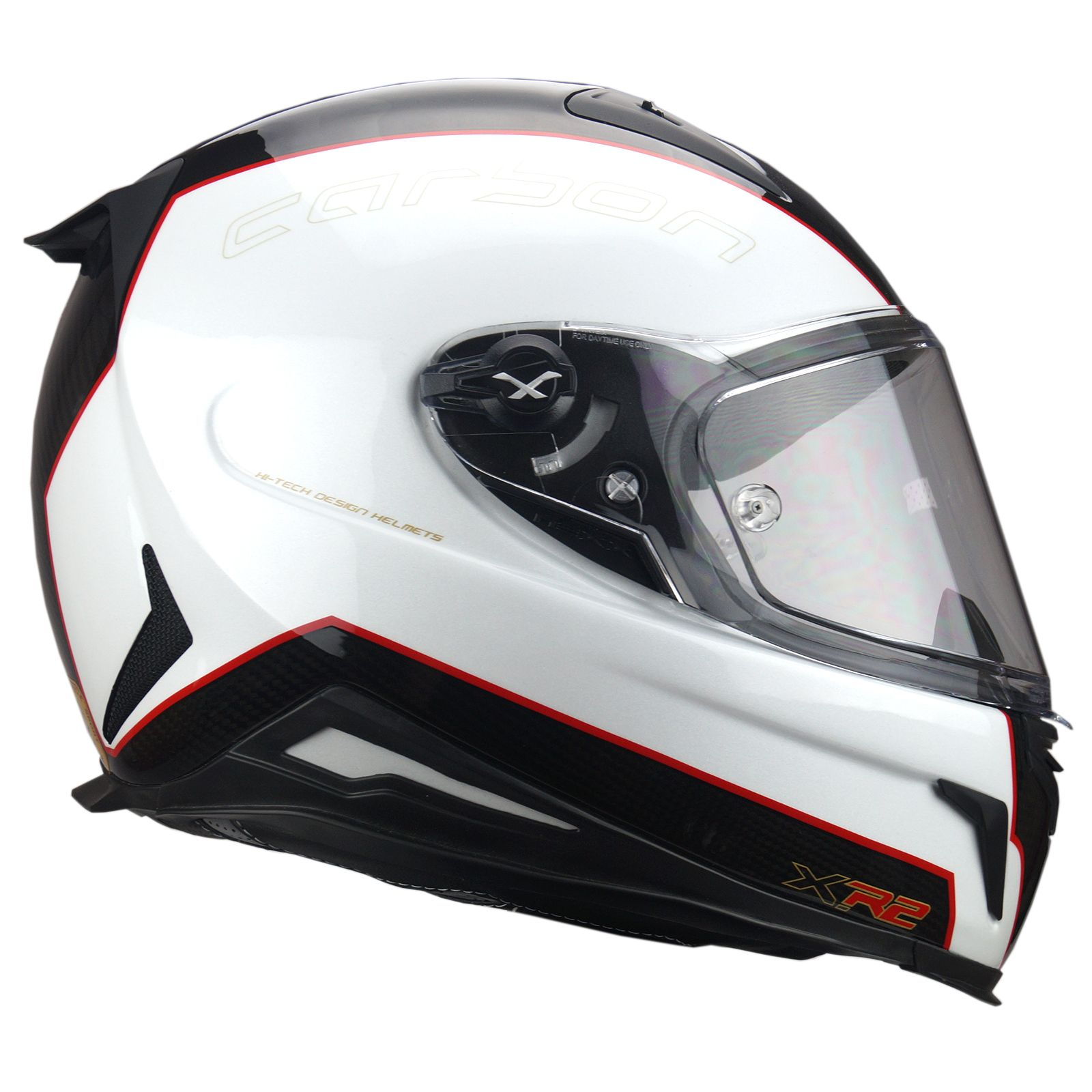 3582f3ce89c36 Details about NEXX XR2 X.R2 Full Face Carbon Motorcycle Racing Helmet Fuel  carbon White
