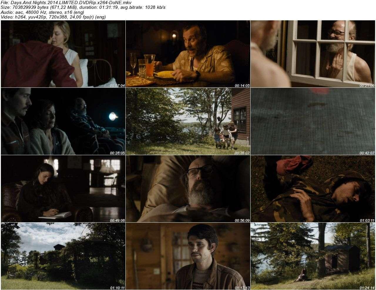 Days And Nights - 2014 DVDRip x264 - Türkçe Altyazılı Tek Link indir