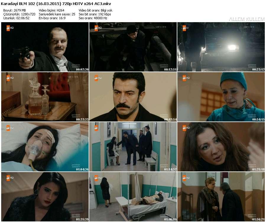 Karadayı 102.Bölüm (16.03.2015) 720p HDTV x264 AC3