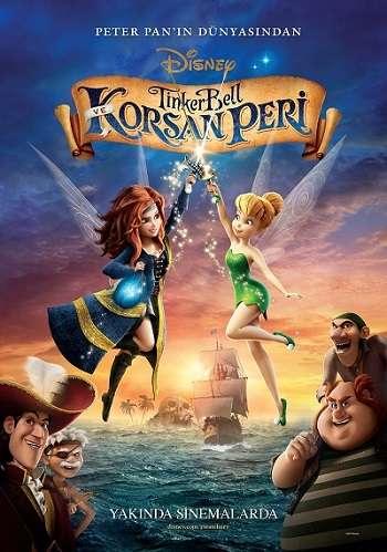 Tinker Bell ve Korsan Peri - The Pirate Fairy - 2014 Türkçe Dublaj MKV indir