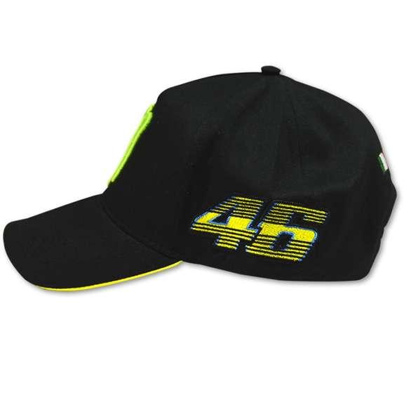 VR46 Valentino Rossi Motogp Monster Energy Logo Cappellino - Nero  35bdcf3461d7