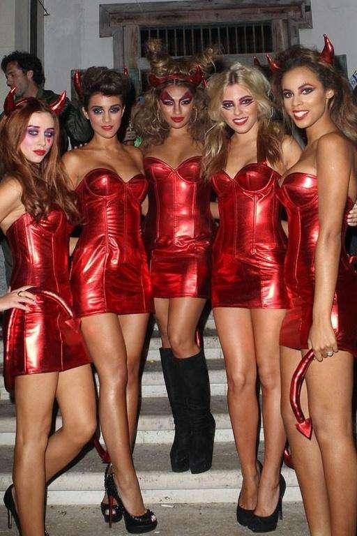 Costumes de diablesses