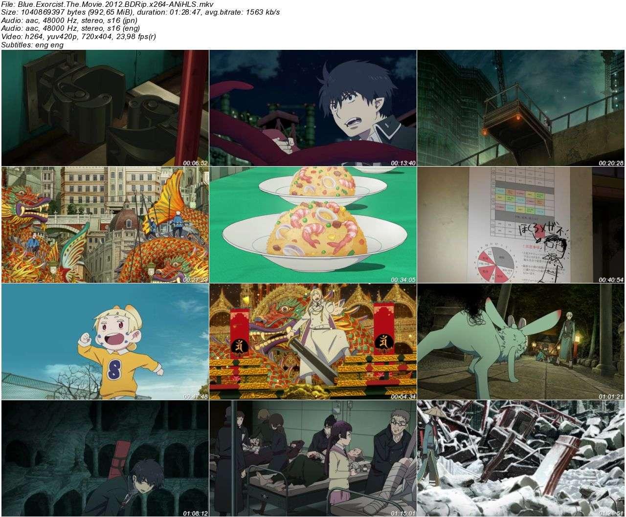 Blue Exorcist The Movie - 2012 BDRip x264 - Türkçe Altyazılı Tek Link indir