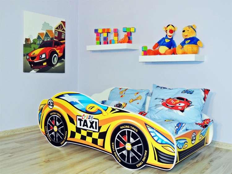 Letto singolo bambino cameretta lettino auto bambini con materasso 160x80 ebay - Letto per bambini 160 80 ...