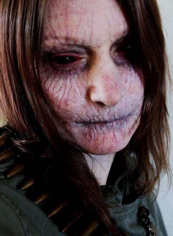 Maquillage qui fait peur