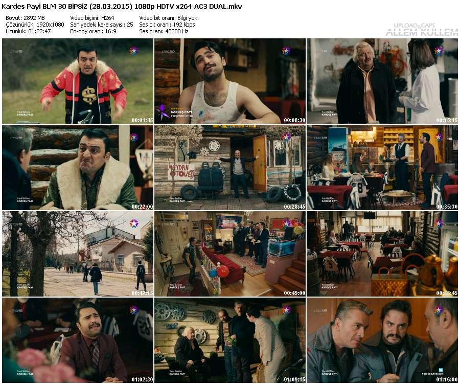 Kardeş Payı 30.Bölüm Bipsiz (28.03.2015) 1080p HDTV x264 AC3 DUAL