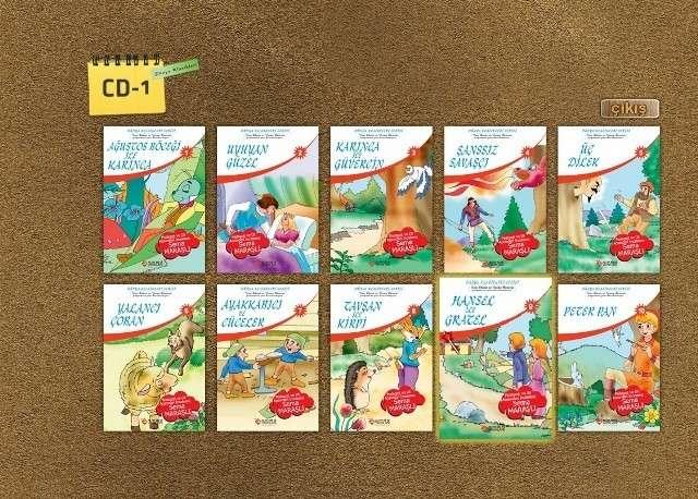 İlkÖğretim Tam Set 1-8 DVD Teklink indir