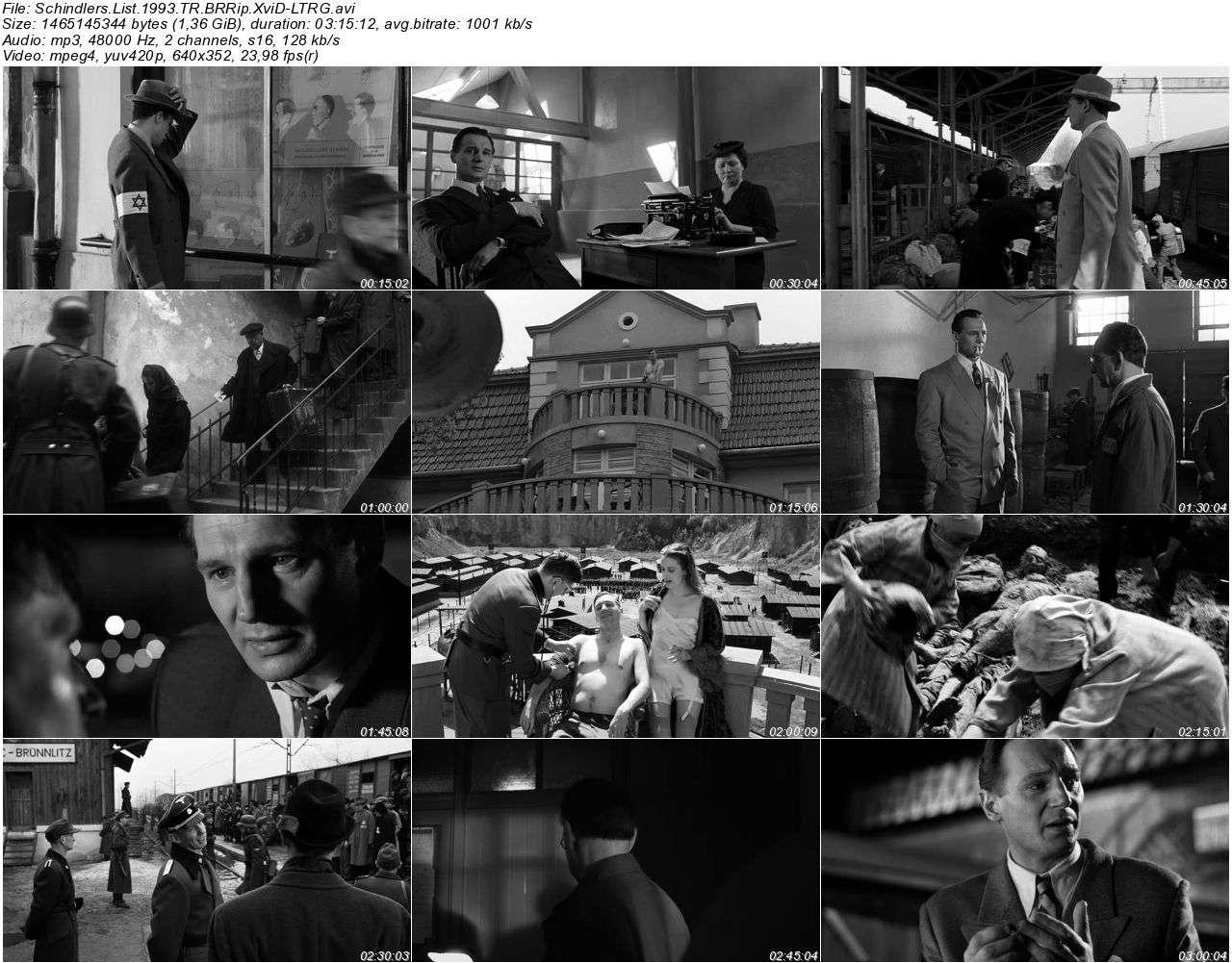 Schindlerin Listesi - 1993 BRRip XviD - Türkçe Dublaj Tek Link indir
