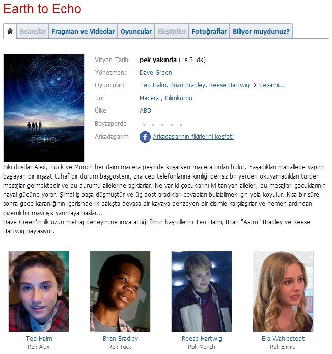 Dünyadan Mesajlar - 2014 BDRip XviD - Türkçe Dublaj Tek Link indir