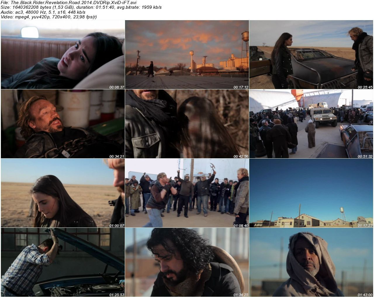 The Black Rider Revelation Road - 2014 DVDRip XviD - Türkçe Altyazılı Tek Link indir