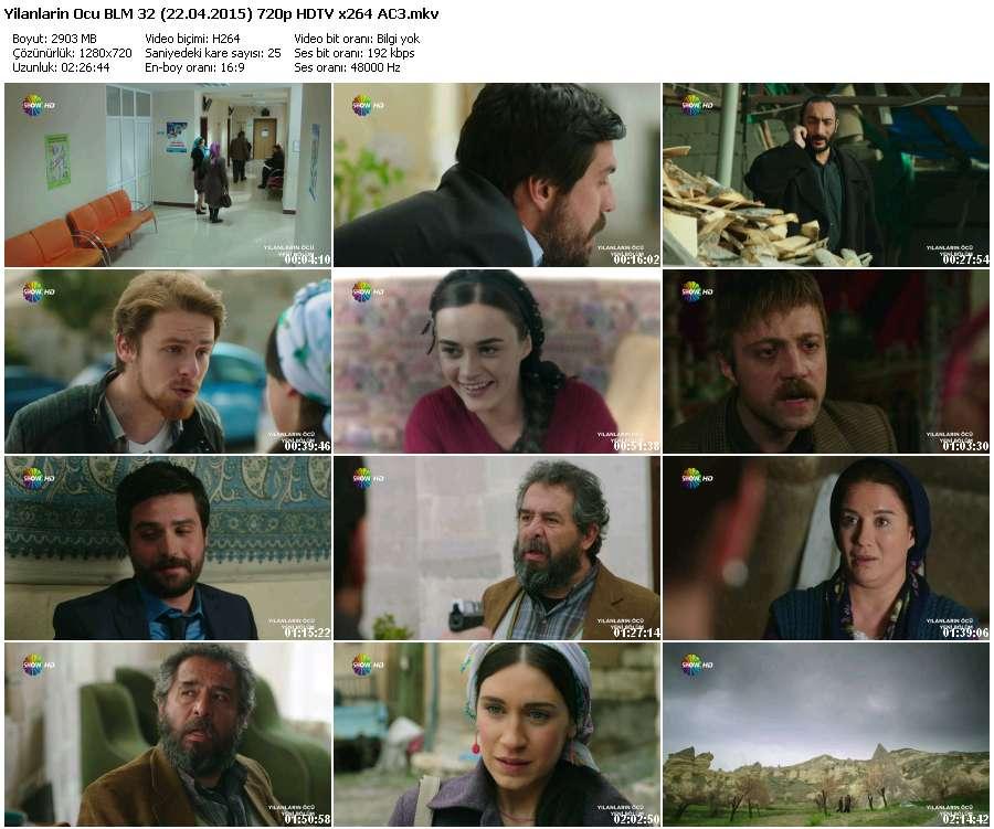 Yılanların Öcü 32.Bölüm (22.04.2015) 720p HDTV x264 AC3