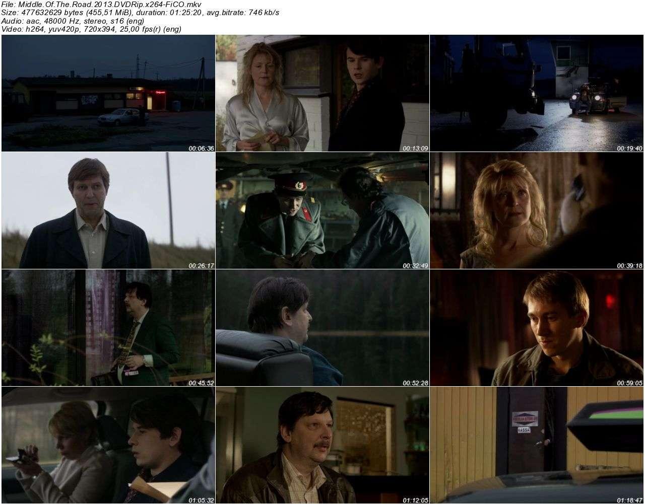 Middle Of The Road - 2013 DVDRip x264 - Türkçe Altyazılı Tek Link indir