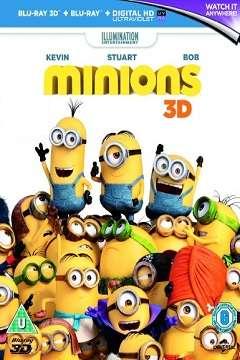 Minyonlar - 2015 3D BluRay m1080p Half-SBS Türkçe Dublaj MKV indir