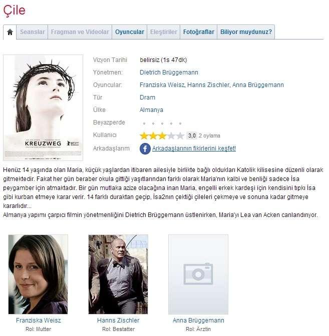 Çile - 2014 BDRip x264 - Türkçe Altyazılı Tek Link indir