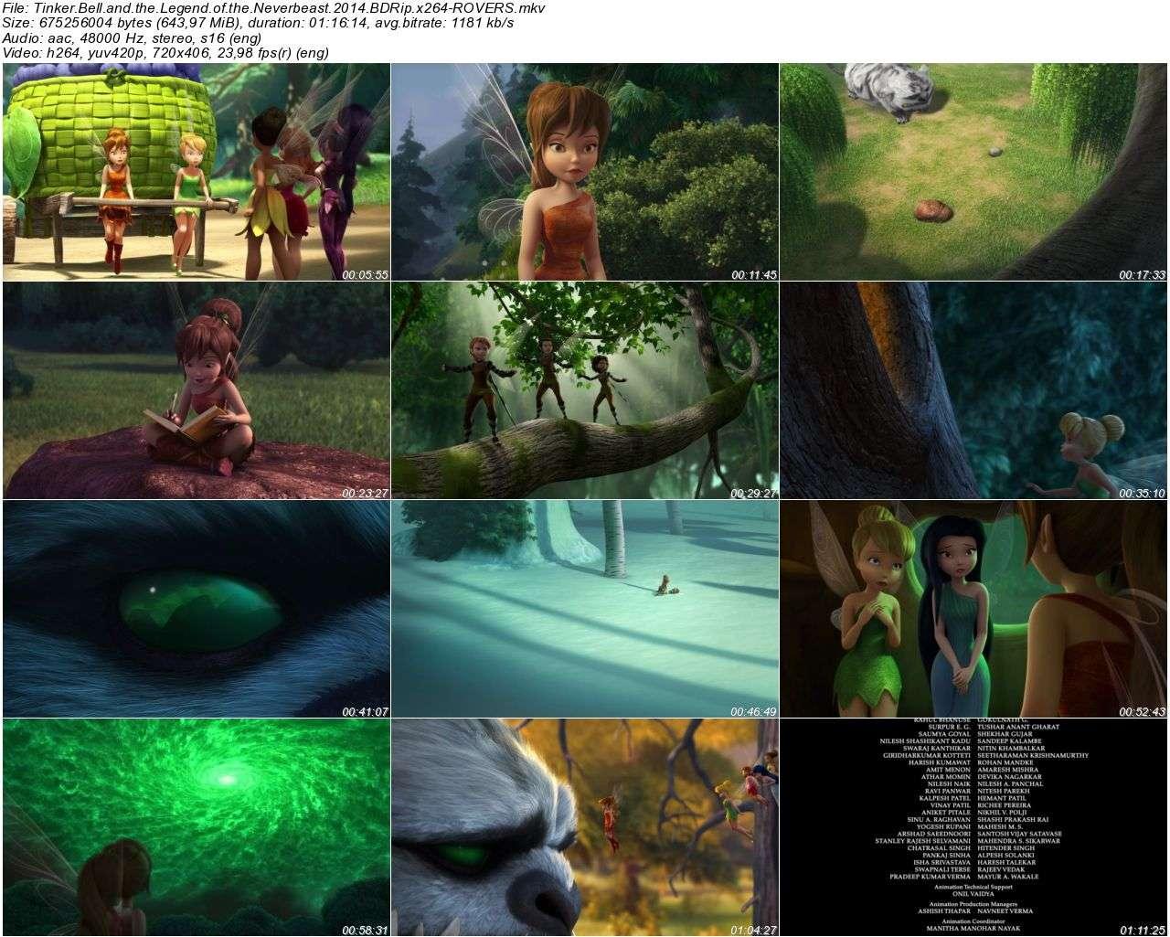 Tinker Bell ve Canavar Efsanesi - 2014 DVDRip XviD - Türkçe Altyazılı Tek Link indir
