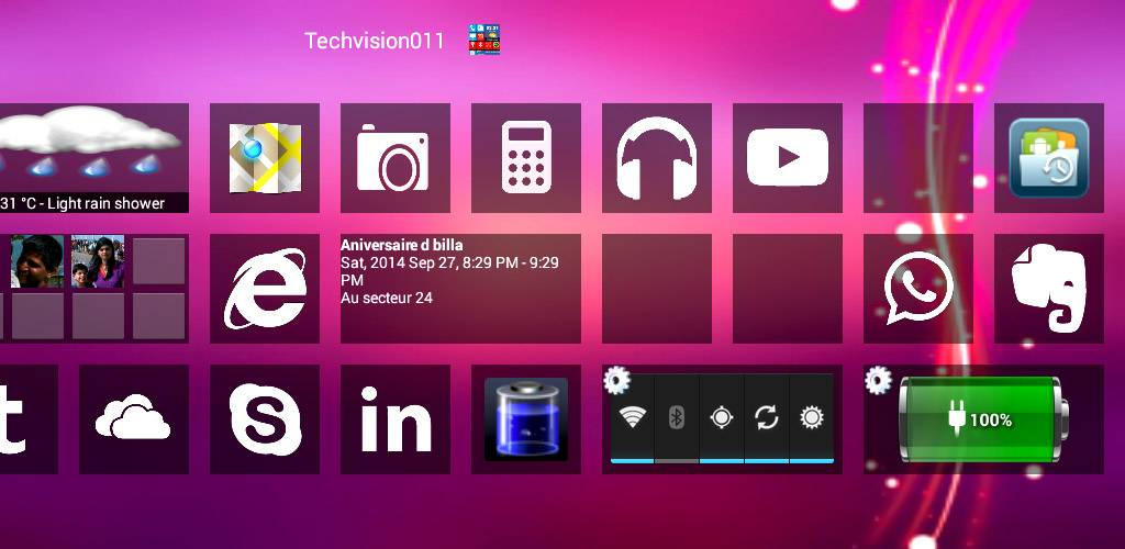 Home8 like Windows 8 Launcher v3.8.0 Apk