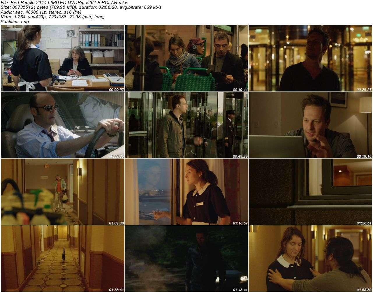 Bird People - 2014 DVDRip x264 - Türkçe Altyazılı Tek Link indir