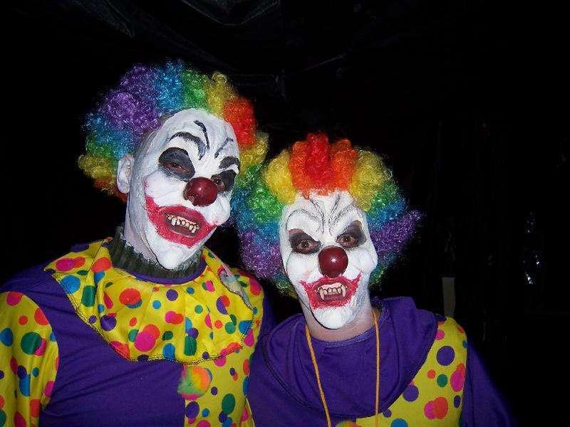 Clowns qui font peur