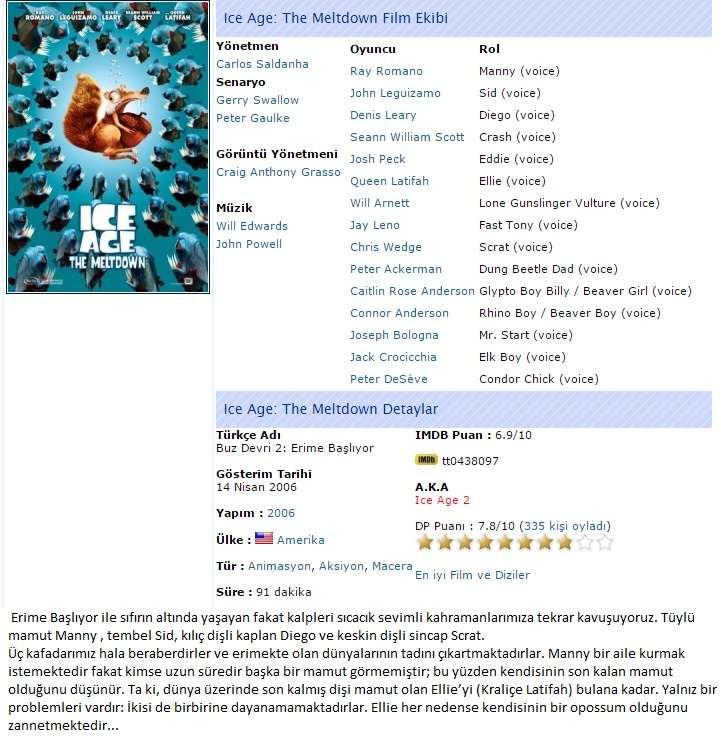 Buz Devri Serisi 1-2-3-4 - BluRay m1080p Türkçe Dublaj MKV indir
