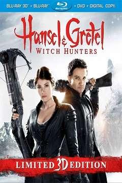 Hansel ve Gretel: Cadı Avcıları - 2013 3D BluRay m1080p H-SBS Türkçe Dublaj MKV indir